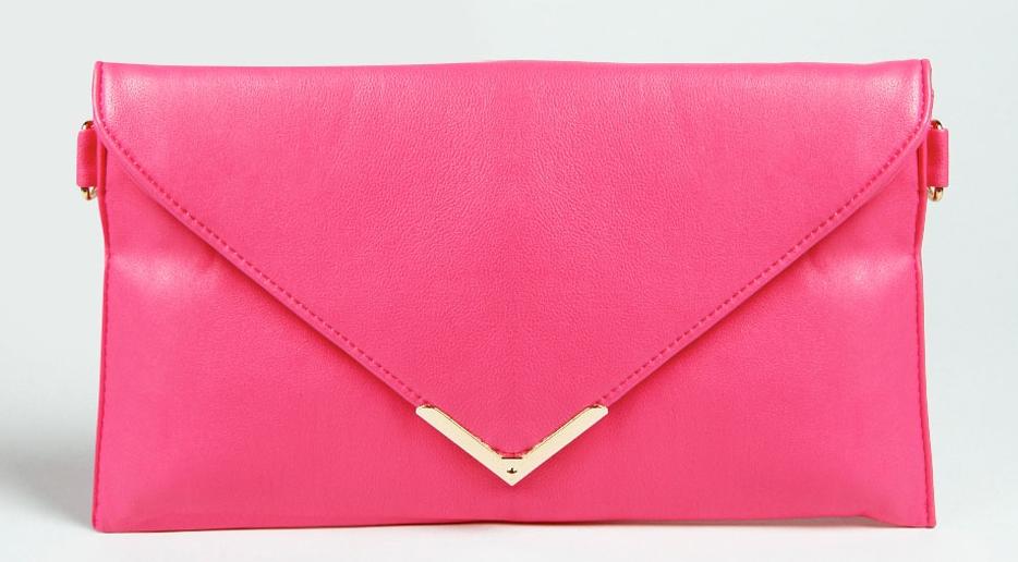 Sophie Metal Trim envelope clutch bag (2)