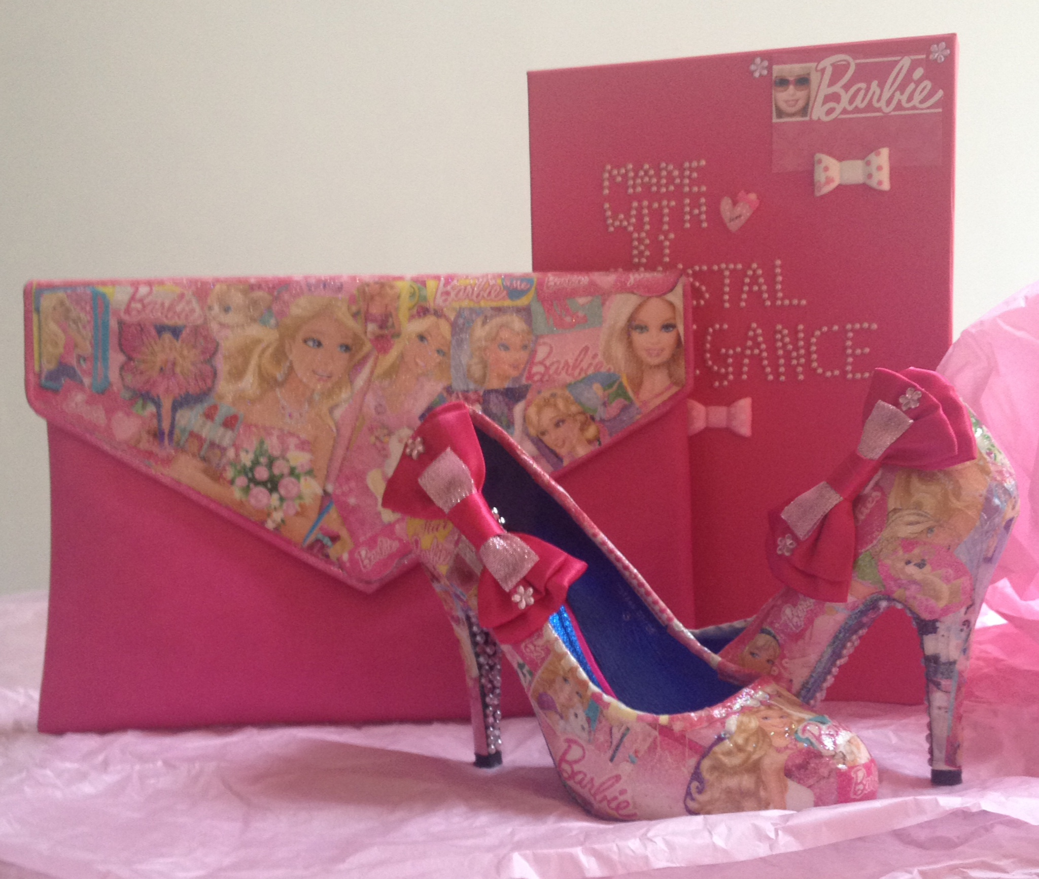 Barbie bag and shoes