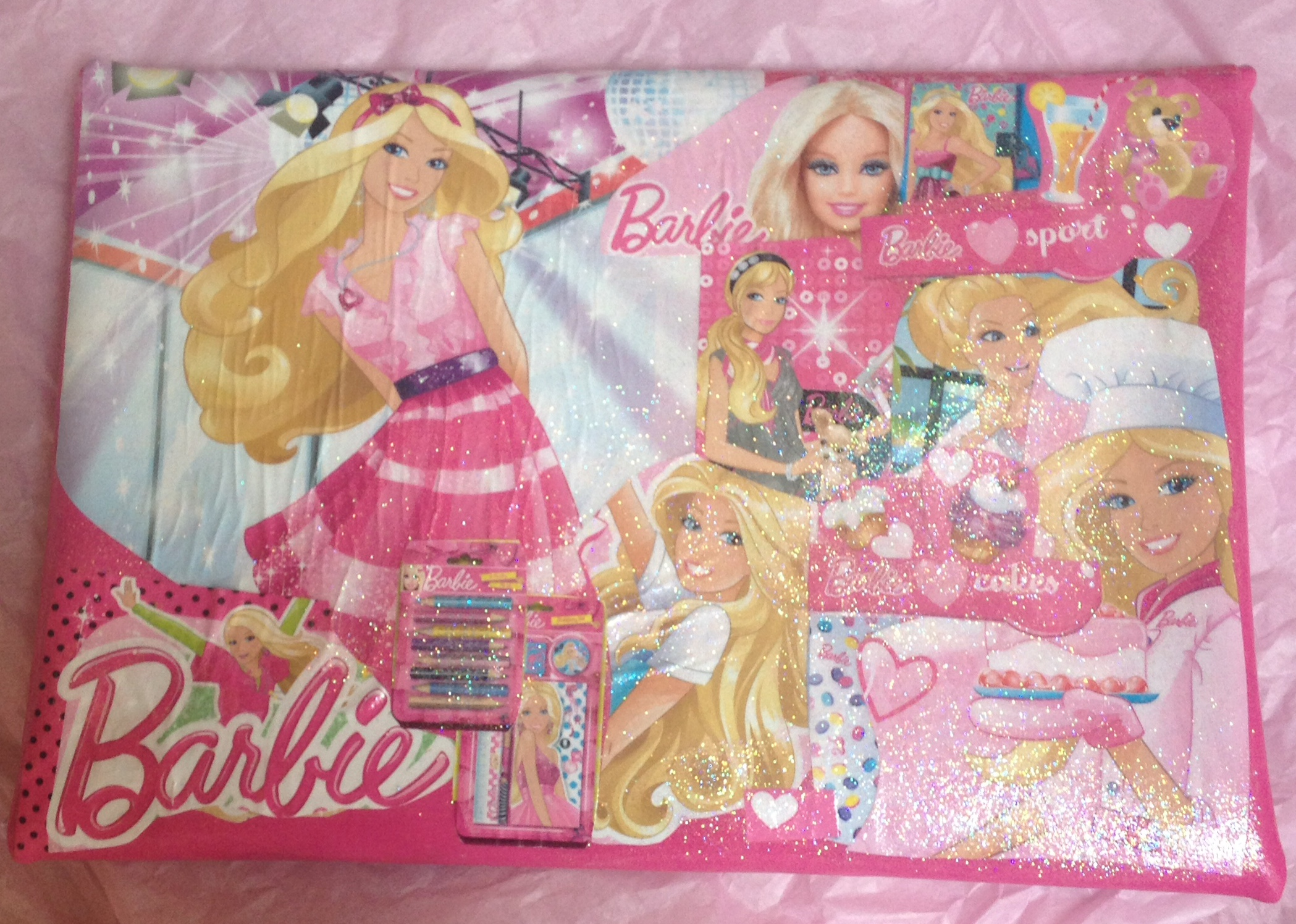 Barbie bag back