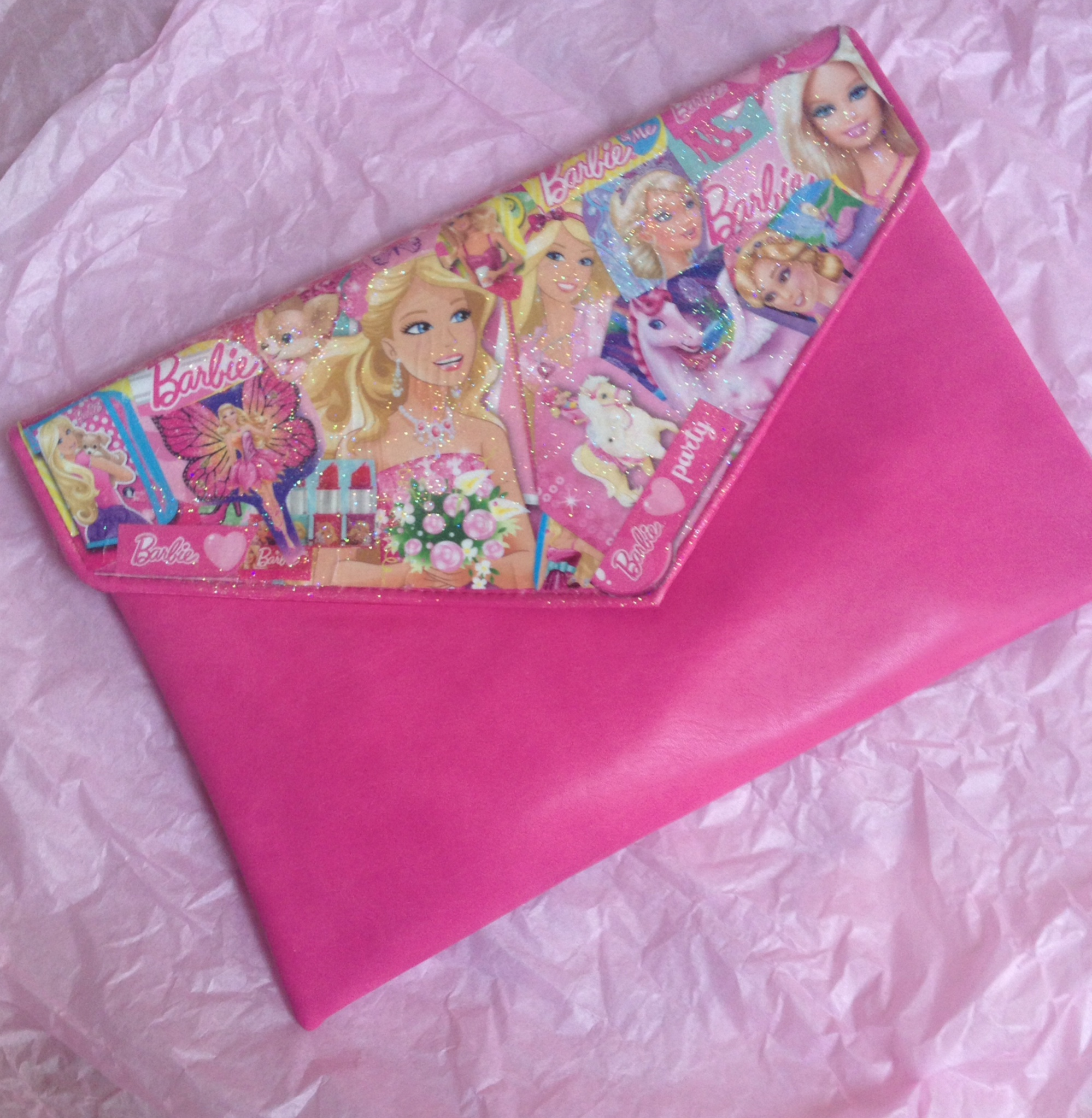 Barbie bag front