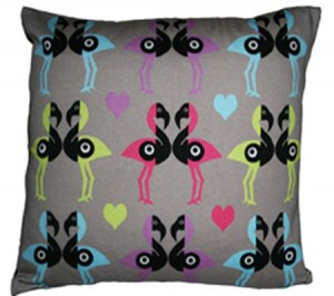 Kissing Birds Cushion