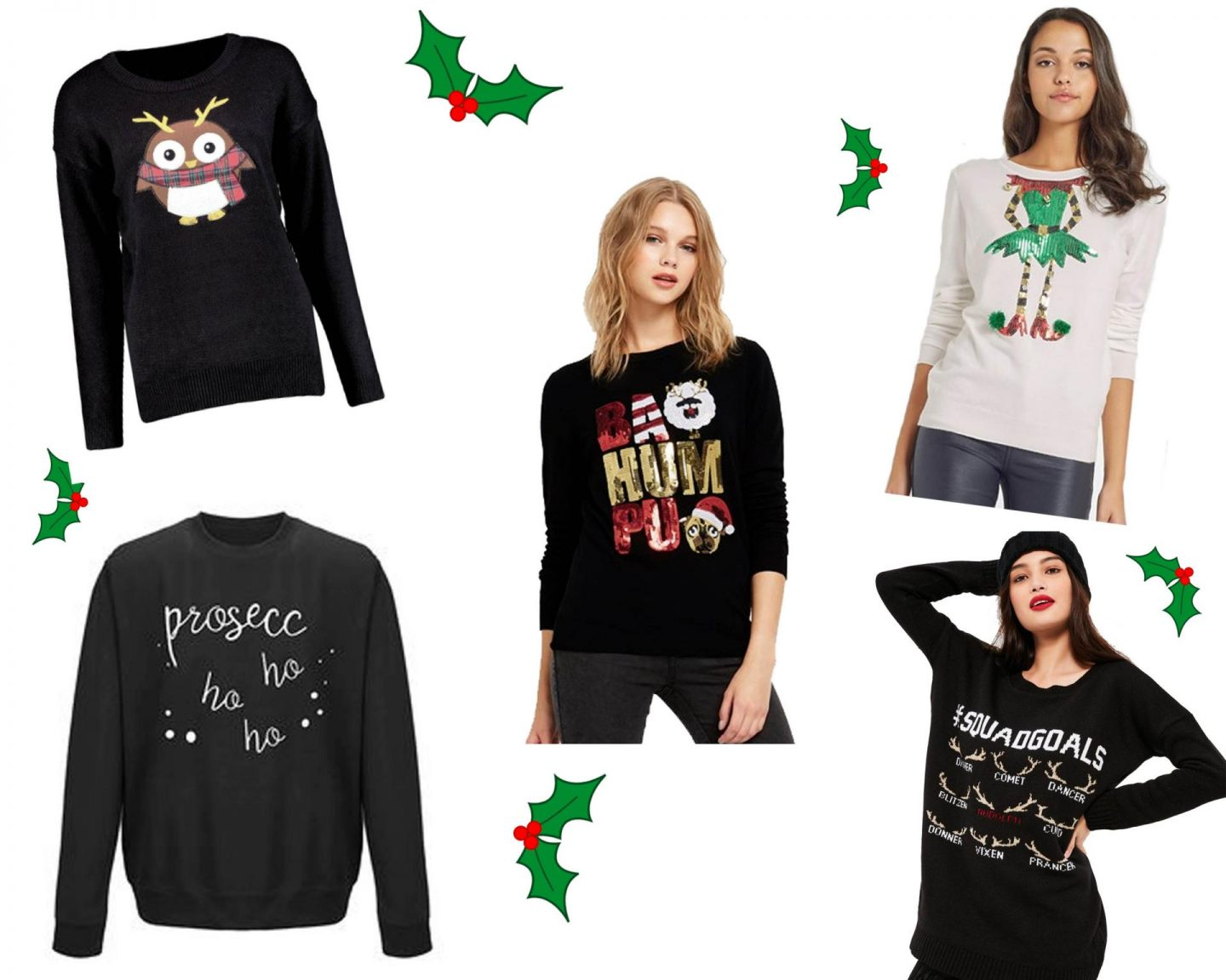This Year's Top Five Christmas Jumpers