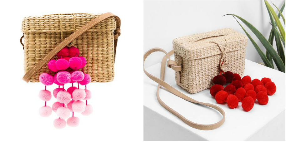 f6c14614f2 ... to designer bags like Chanel) it is still quite a bit to spend on a  basket bag. The dupe is nearly identical and it is a much more reasonable  £16.99.