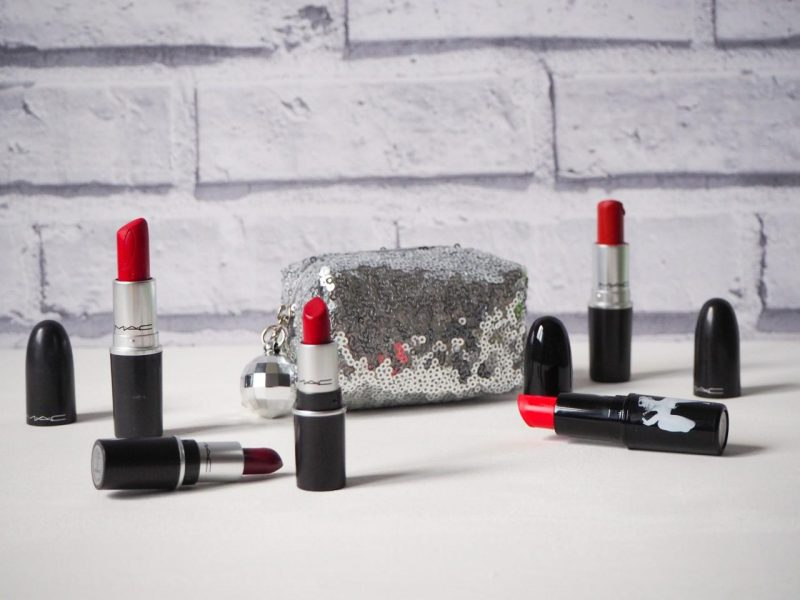 Mac red lipsticks