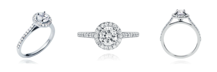 Halo Diamond Solitaire